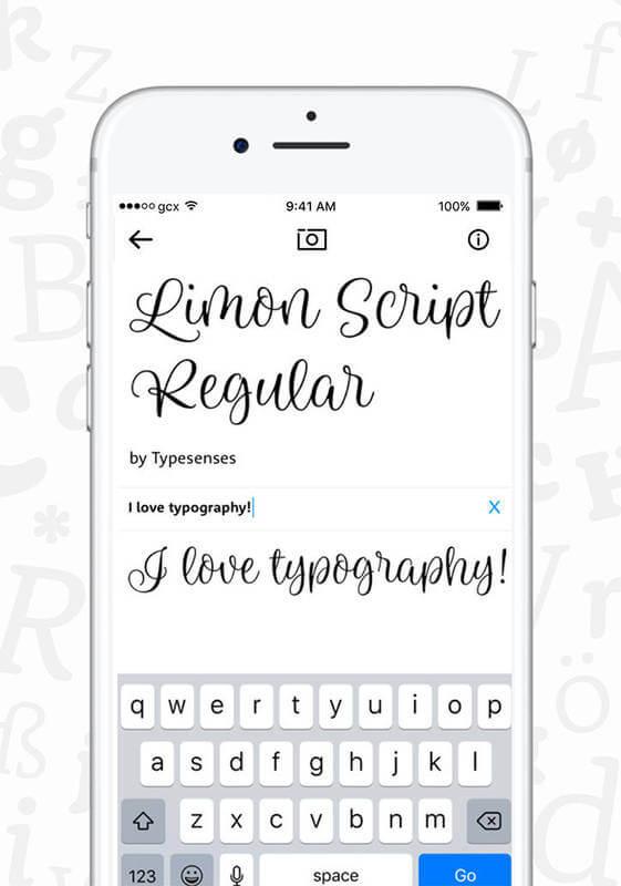 app para saber el nombre de tipografías