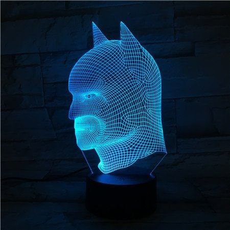 lampara led de Batman