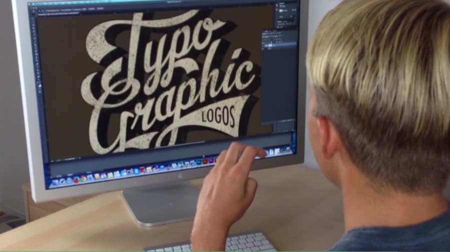 logotipos con lettering y tipografías