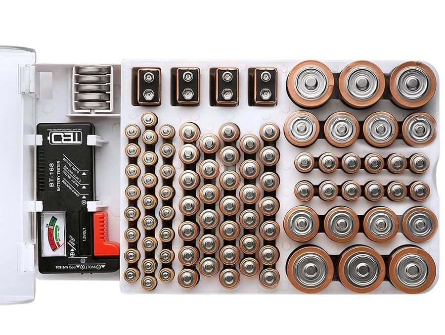 organizador de baterías