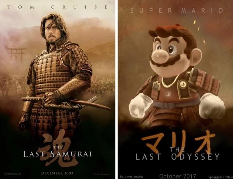 Mario Odyssey Poster