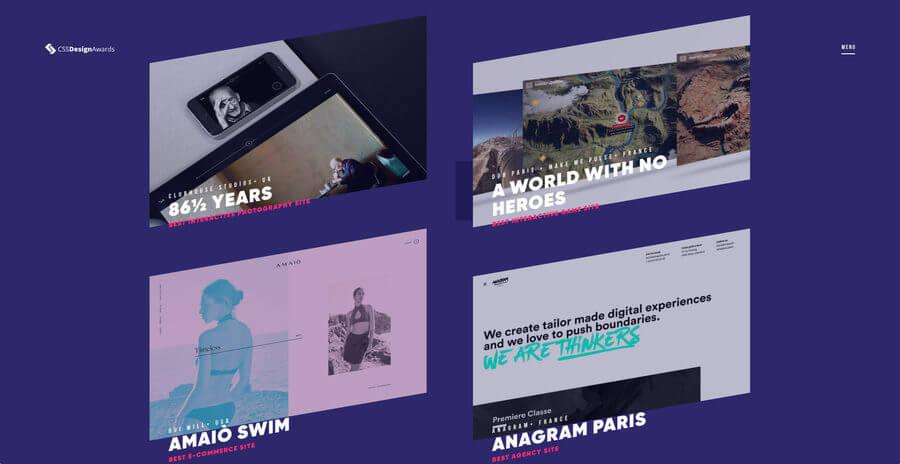 CSS Design Awards 2107