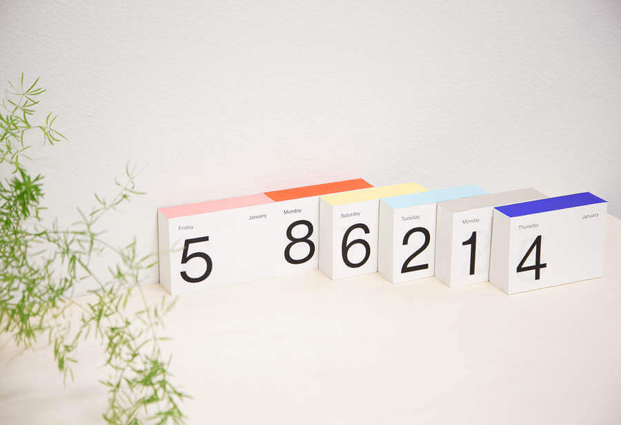 Calendario exfoliador 2108