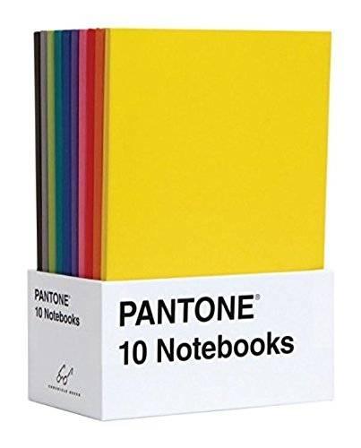 libreta de notas Pantone