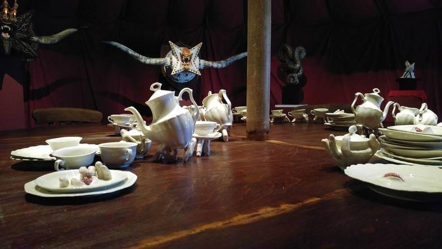 obras de cerámica de Ronit Baranga