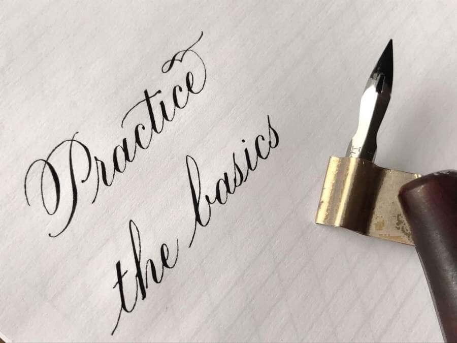 Plantillas para practicar caligrafía y lettering