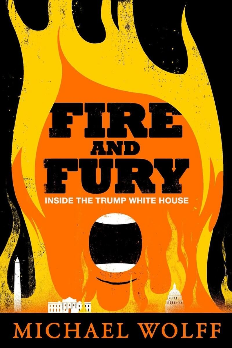 Portada alterna Fire and Fury