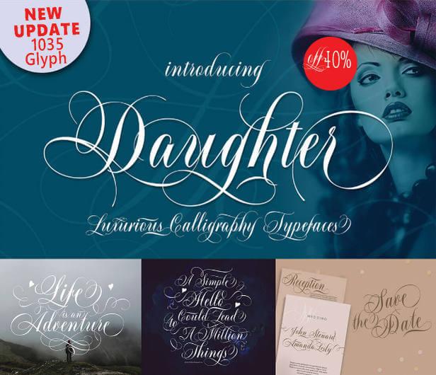 29 familias tipográficas script