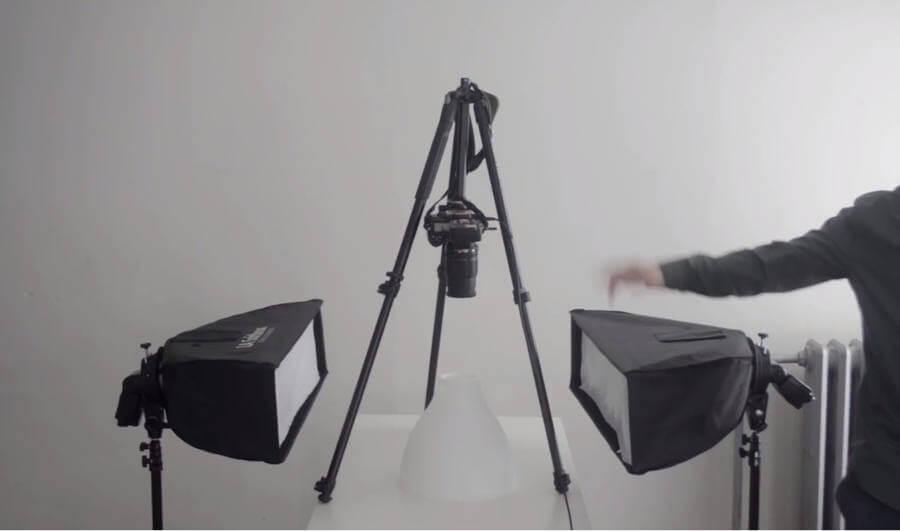 Equipos para tomar fotos a productos