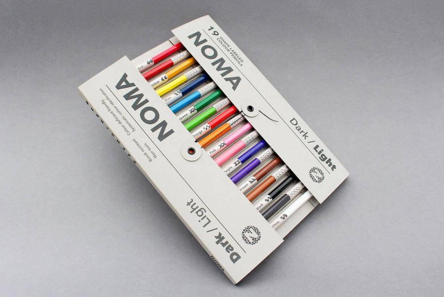 Lápices de colores para daltónicos