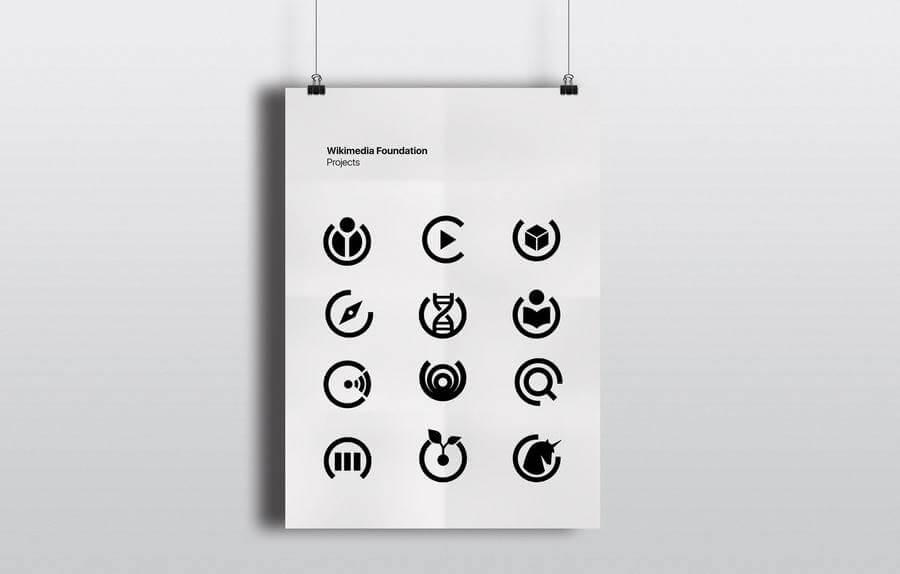 Logotipos de la Fundación Wikimedia