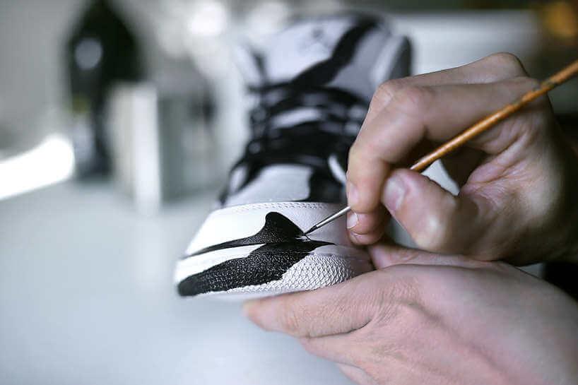 Tenis Nike intervenidos
