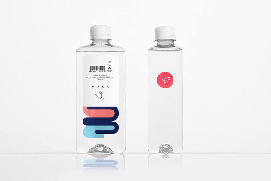 Botellas 100% biodegradables