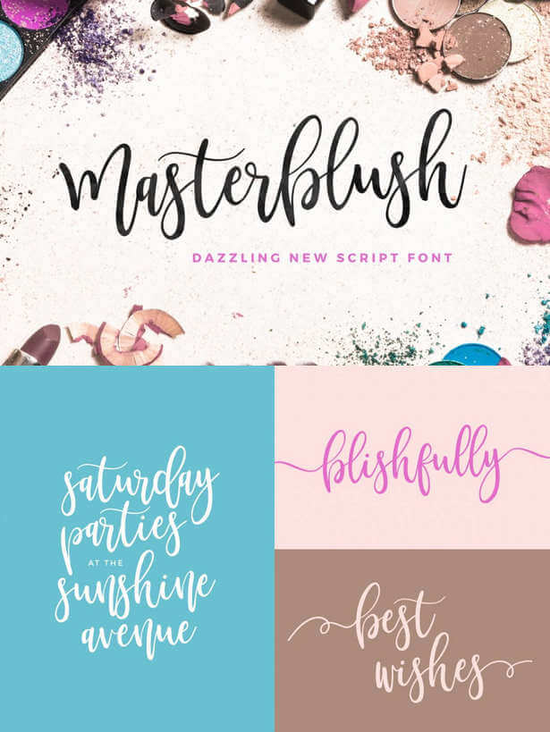 Familias tipográficas script