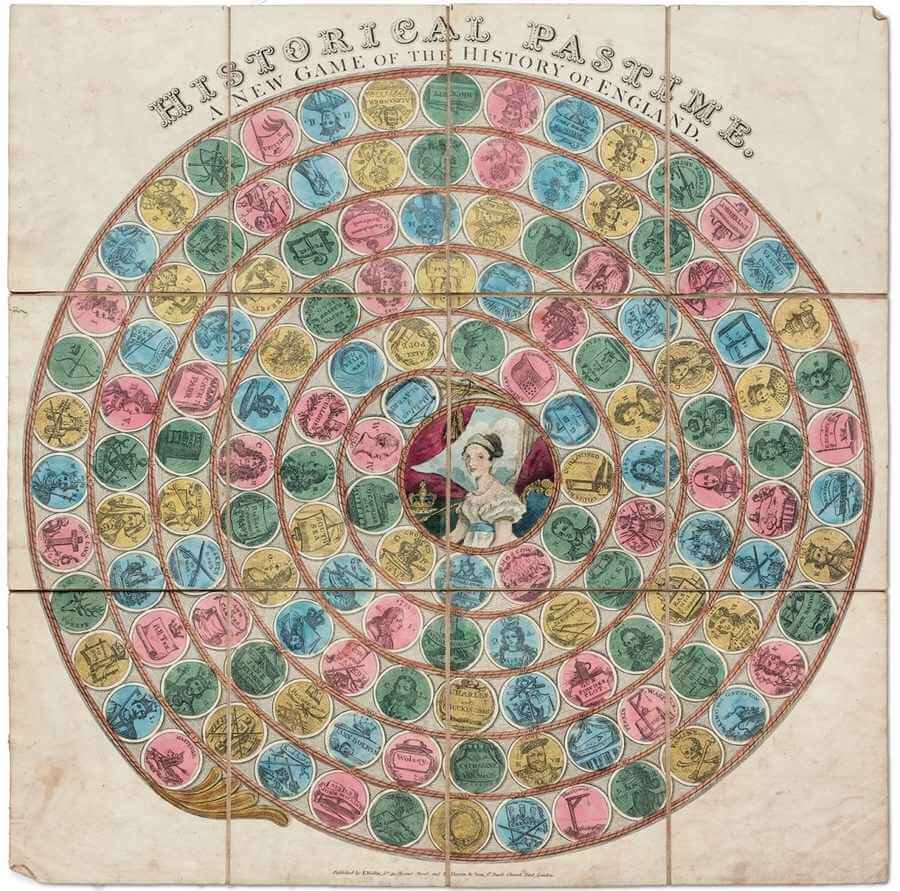 Juegos de mesa del siglo XIX