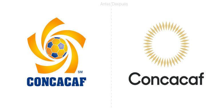 Nuevo logotipo de la Concacaf