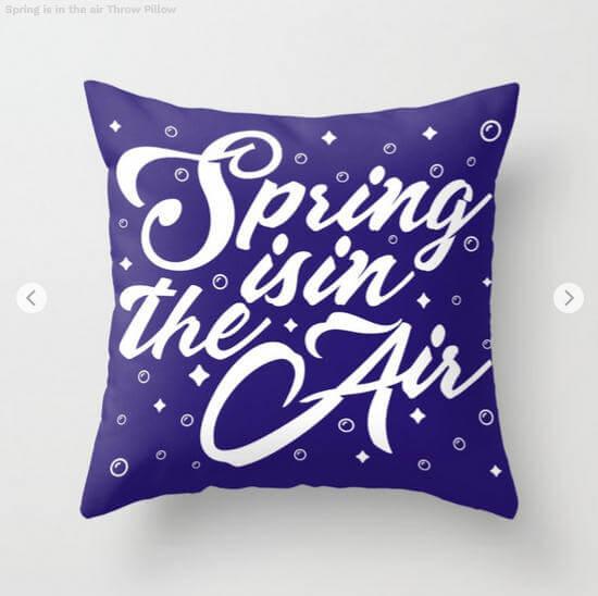 Obras de arte primaverales
