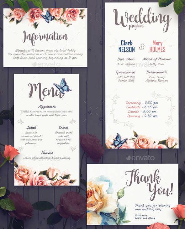Programas de bodas modernos