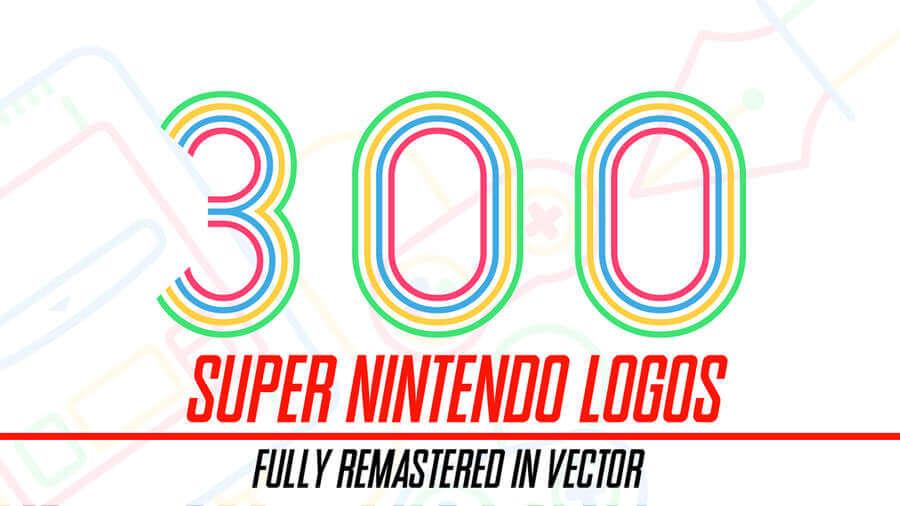 300 logotipos de videojuegos en vectores gratis