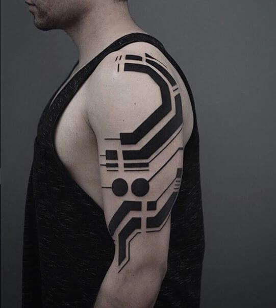 Georgie Williams tattoo