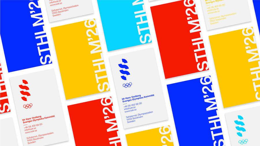 Logo para los Juegos Olímpicos de Estocolmo 2026