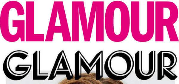Nuevo logo de Glamour