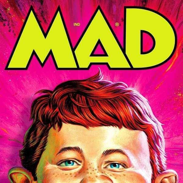 Nuevo logo de MAD