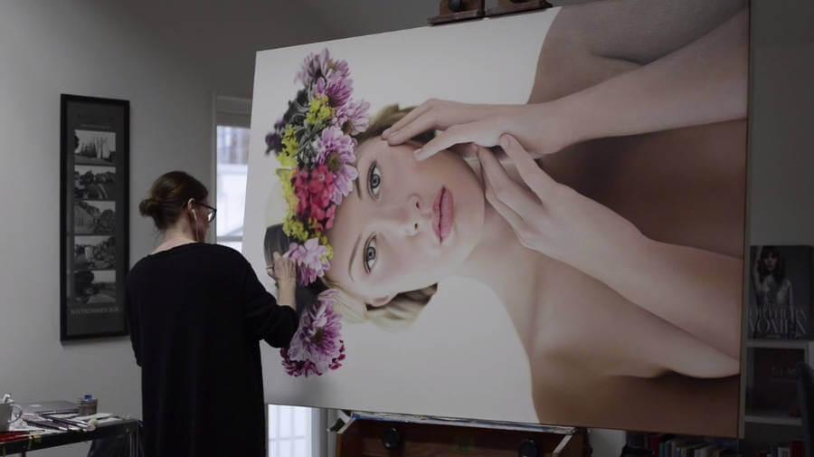 Pasos para pintar un retrato realista