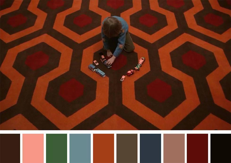 Paletas de colores películas