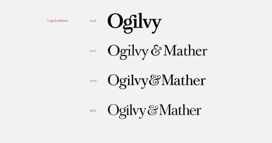 Ogilvy su nuevo Logo