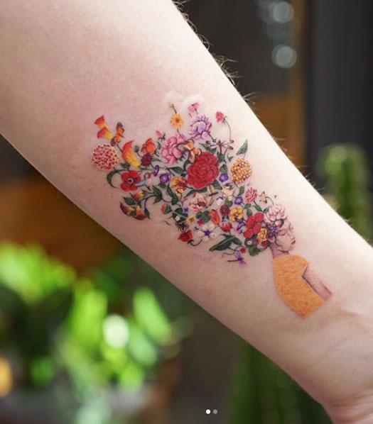 Zihee Tattoo Diseños Coloridos