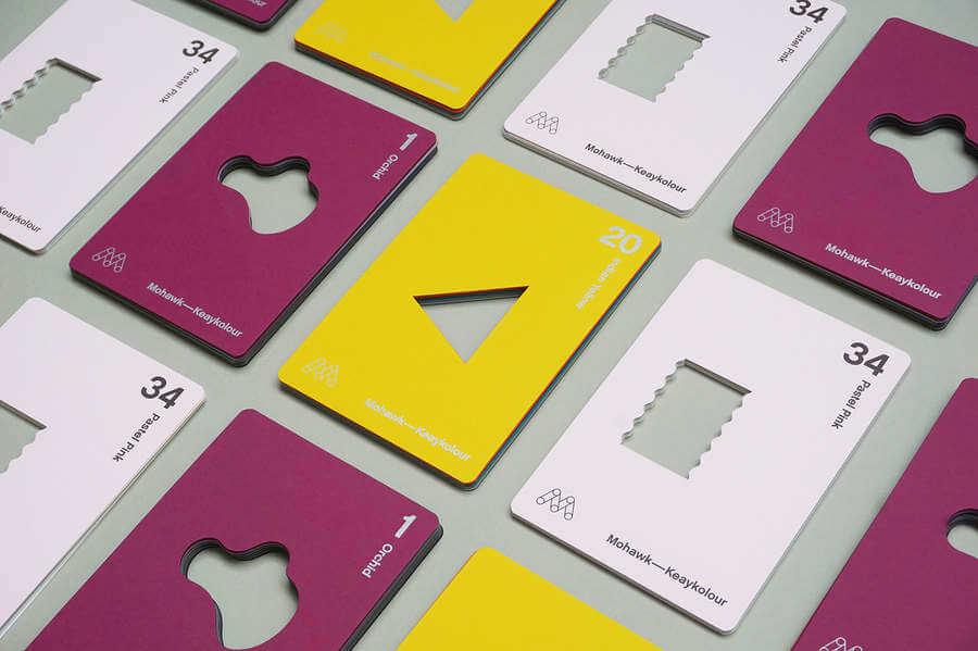 Muestrarios de papel interactivos