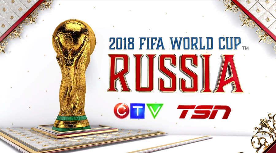 Publicidad para el mundial de fútbol