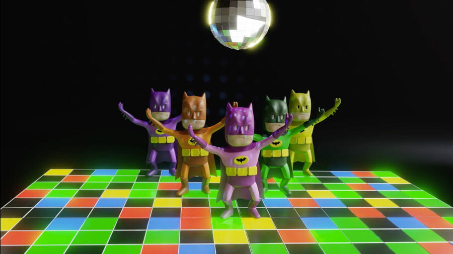 Batman Dance Party