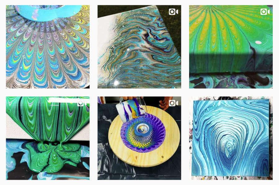 6 artistas en instagram