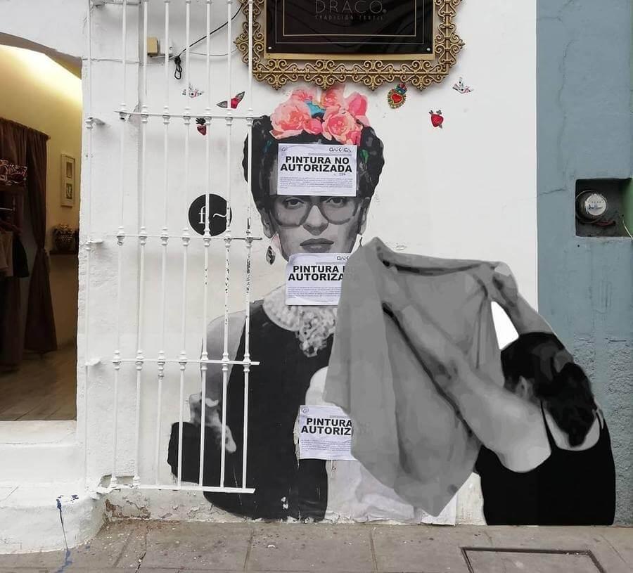 Murales con ídolos mexicanos