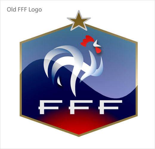 Nuevo escudo de la Selección de Fútbol de Francia