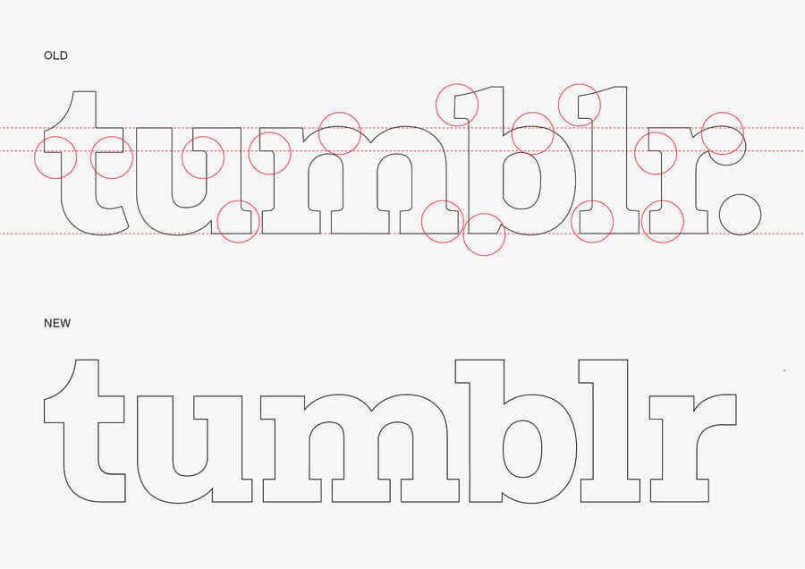 Nuevo logotipo de Tumblr