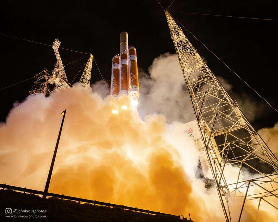 Fotógrafo de lanzamientos de cohetes