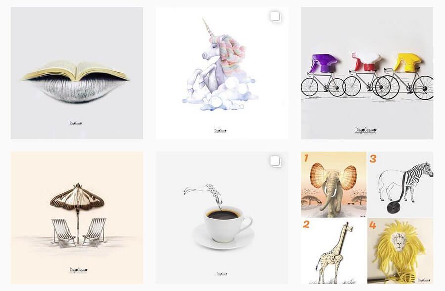 Ilustradores y dibujantes en Instagram