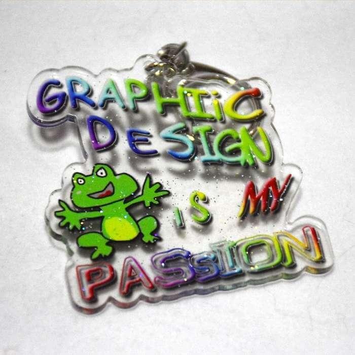 Llaveros para diseñadores gráficos