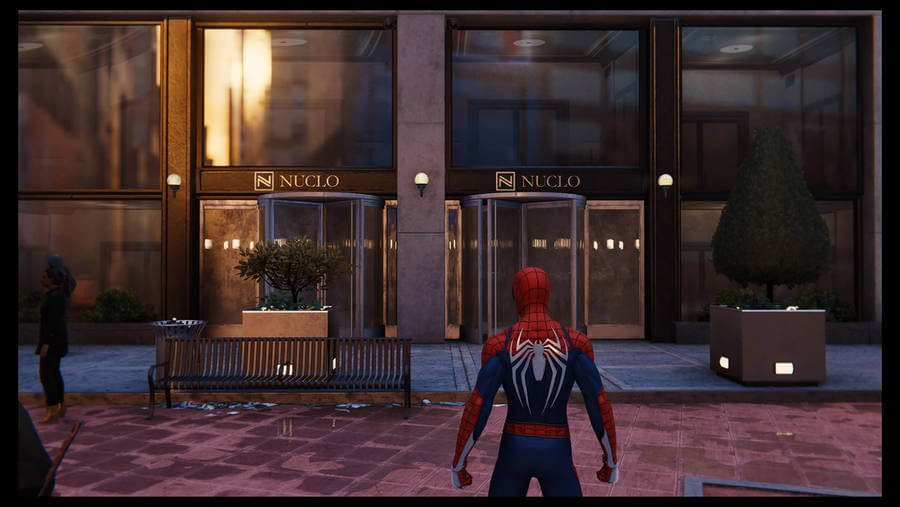 Logotipos en Marvel's Spider-Man