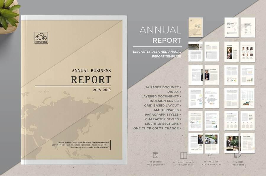 Plantillas de reportes anuales