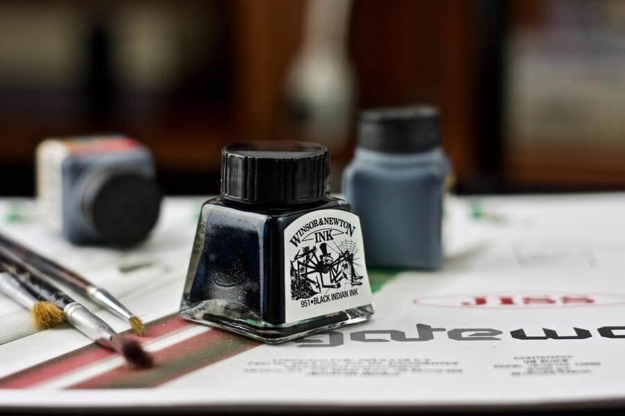 Técnicas básicas del gouache y de la tinta china