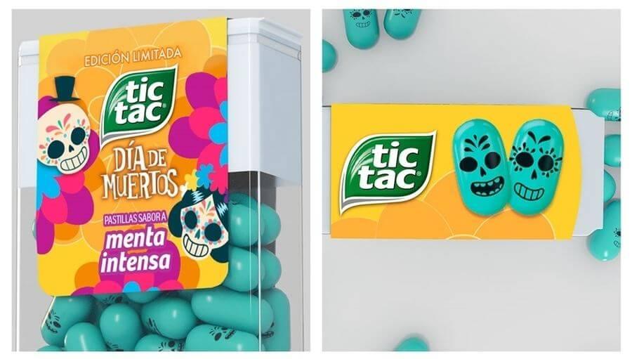 Tic Tac día de muertos