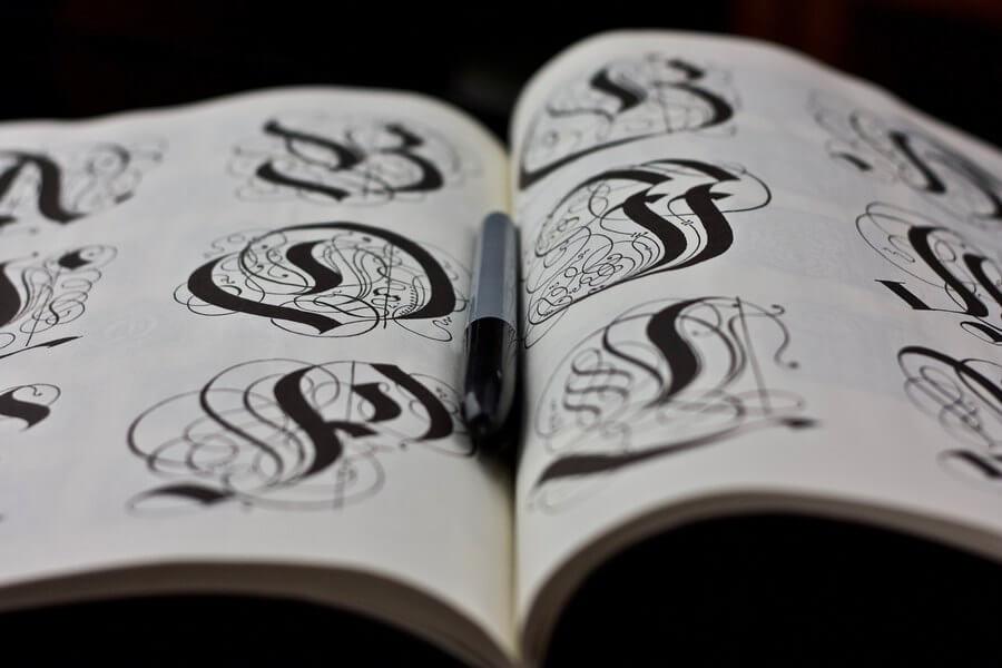 Diseño de logotipos con lettering