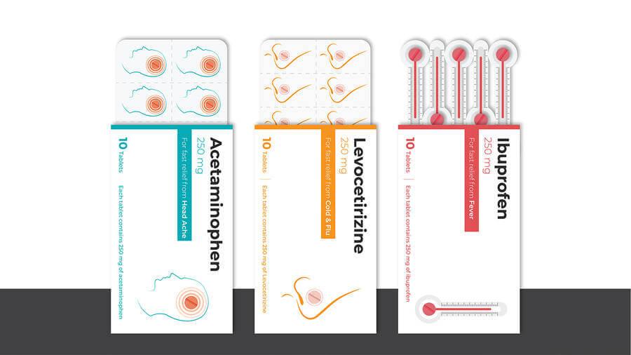 Empaques para medicamentos