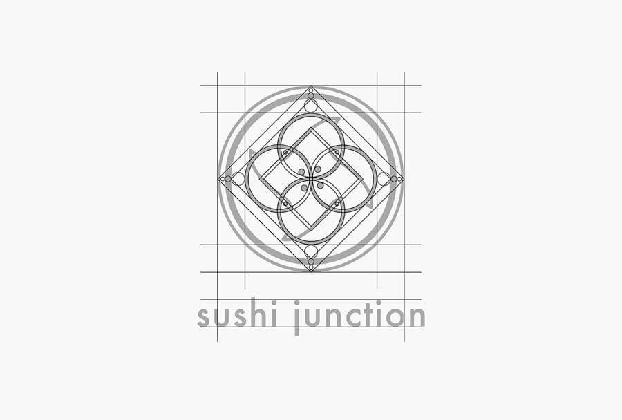 Identidad visual de un restaurante japonés