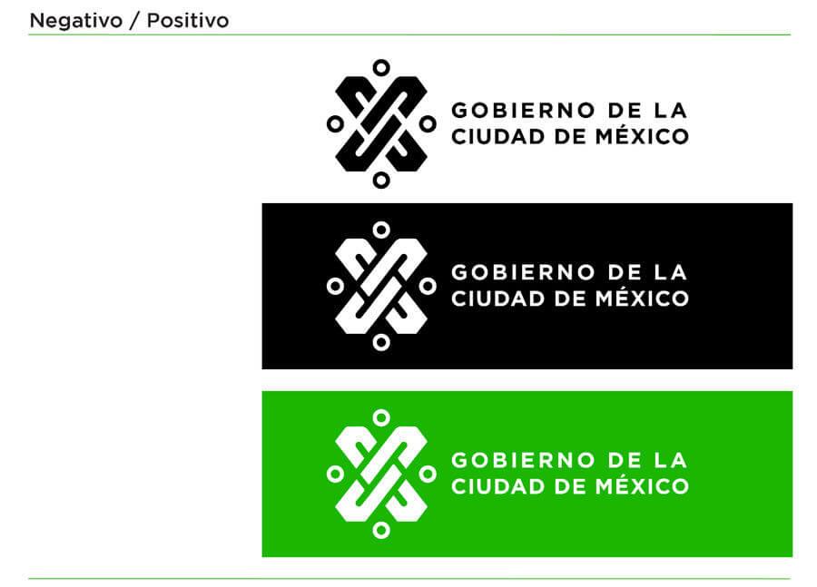 Logotipo del Gobierno de la Ciudad de México