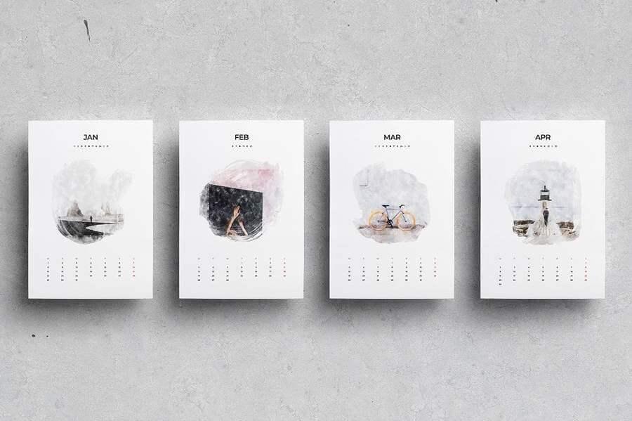 Plantillas de Calendario
